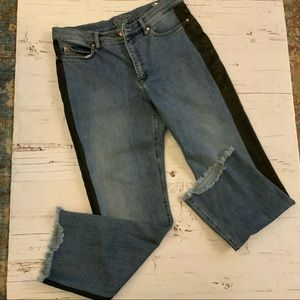 Escada Linda straight cropped Jean 40/10